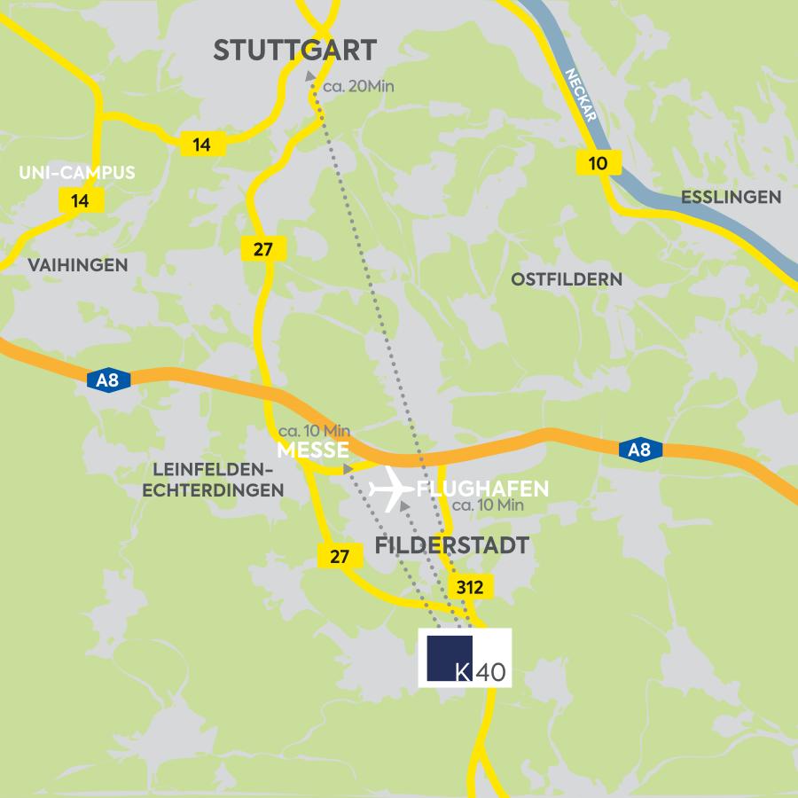 K40 Büroflächen Vermietung Filderstadt-Bonlanden